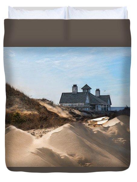 Castle In The Sand Duvet Cover
