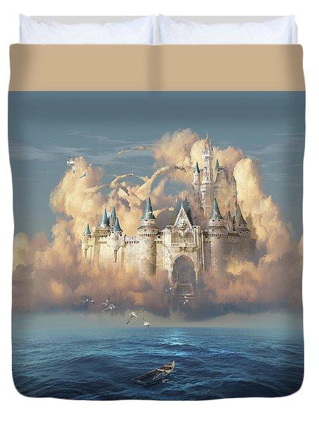 Castle In The Sky Duvet Cover