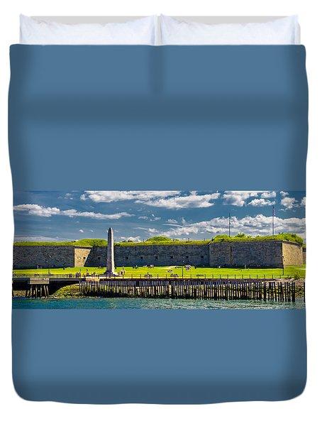 Castle Island Duvet Cover