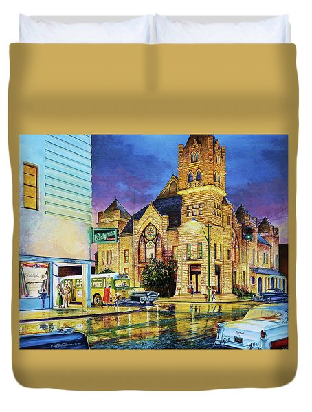 Castle Of Imagination Duvet Cover
