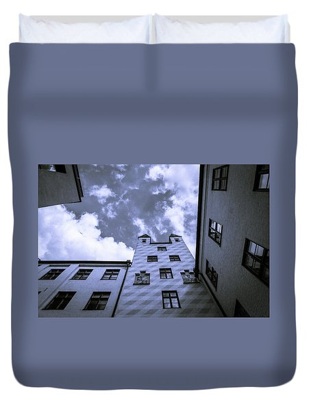 Castle Duvet Cover by Sergey Simanovsky