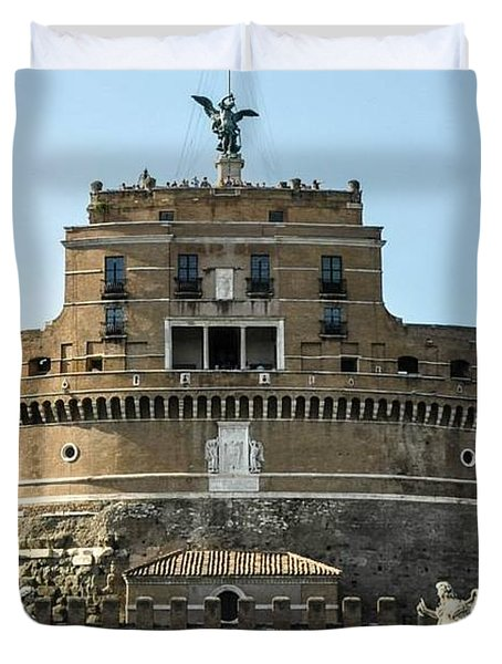 Castle St Angelo Duvet Cover