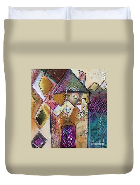 Castle Tower Duvet Cover