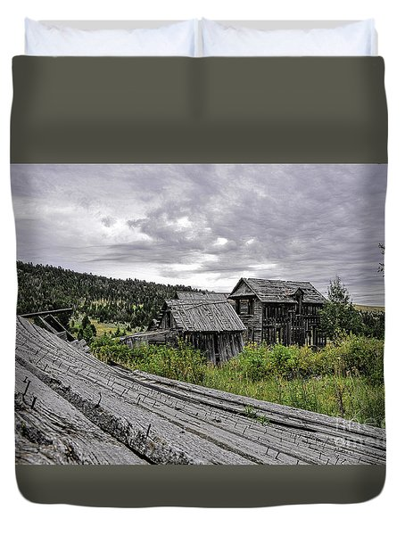 Castle Town Duvet Cover