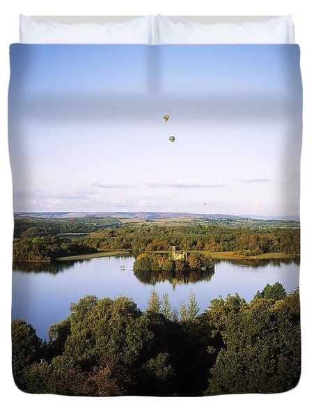 Castleisland Lough Key Forest Park Duvet Cover by The Irish Image Collection