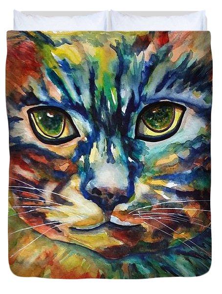 Cat A Tude Duvet Cover
