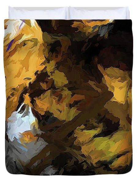 Cat Sleep Shadow Duvet Cover