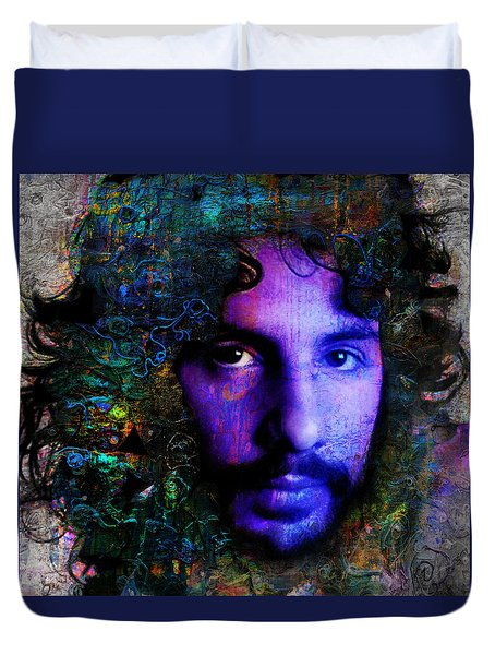 Cat Stevens Duvet Cover