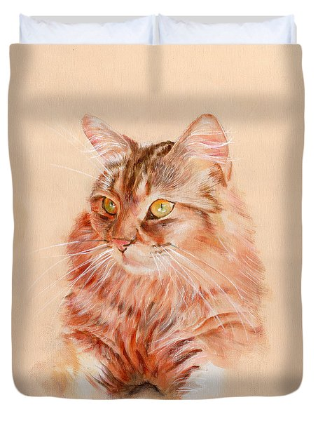 Warming In The Sun Duvet Cover