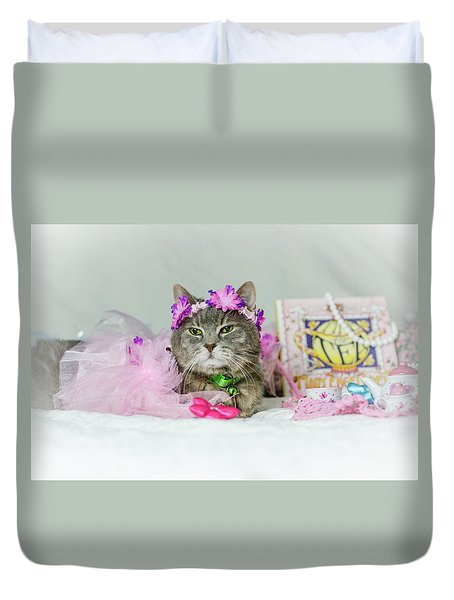 Cat Tea Party Duvet Cover