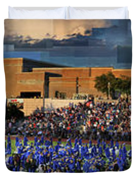 Catalina Foothills High School Graduation 2016 Duvet Cover