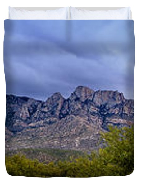 Catalina Mountains P1 Duvet Cover