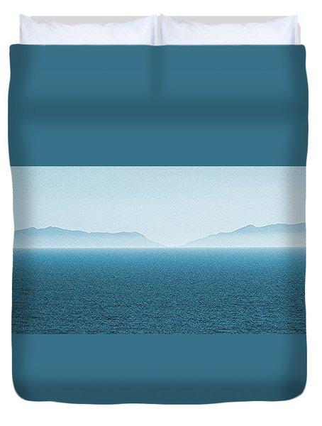 Catalina Test Duvet Cover by Ben and Raisa Gertsberg