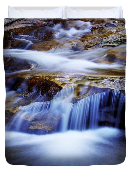 Cataract Falls Duvet Cover