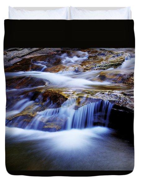 Cataract Falls Duvet Cover by Chad Dutson