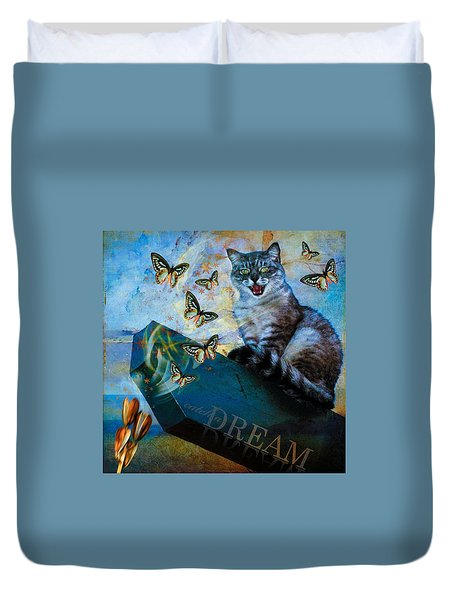 Duvet Cover featuring the photograph Catch A Dream by Richard Ricci