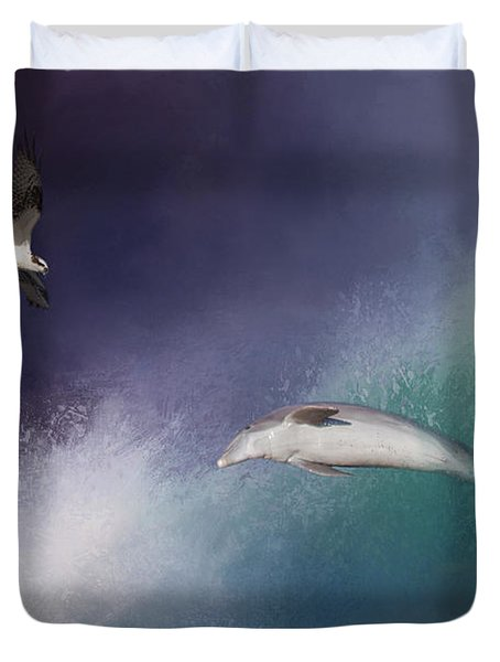 Catch A Wave Duvet Cover