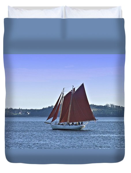 Catch The Breeze Duvet Cover