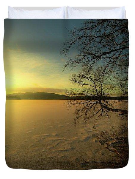 Catch The Light Duvet Cover by Rose-Marie Karlsen