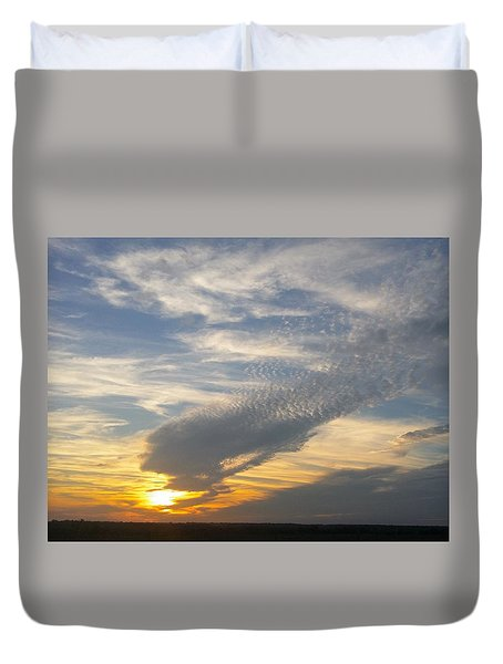 Catch The Morning Sun Duvet Cover