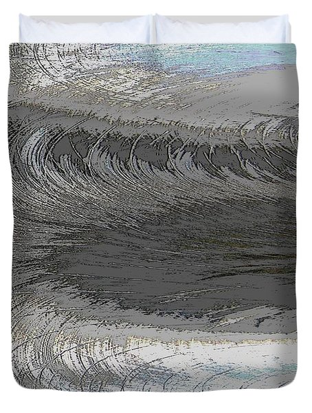 Catch The Wave Duvet Cover by Tim Allen