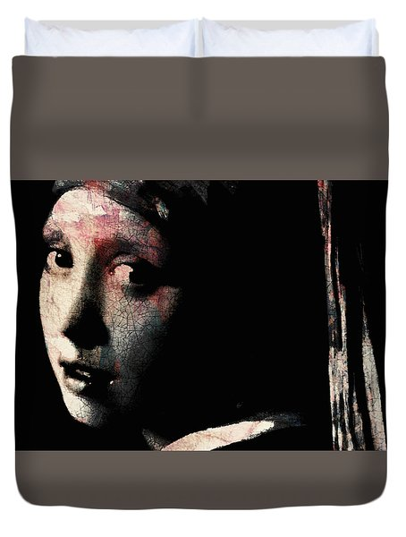 Catch Your Dreams Before The Slip Away Duvet Cover