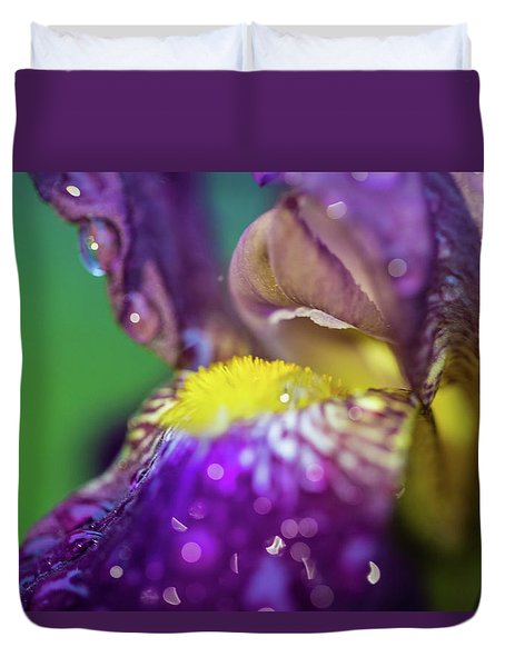 Catching Raindrops  Duvet Cover