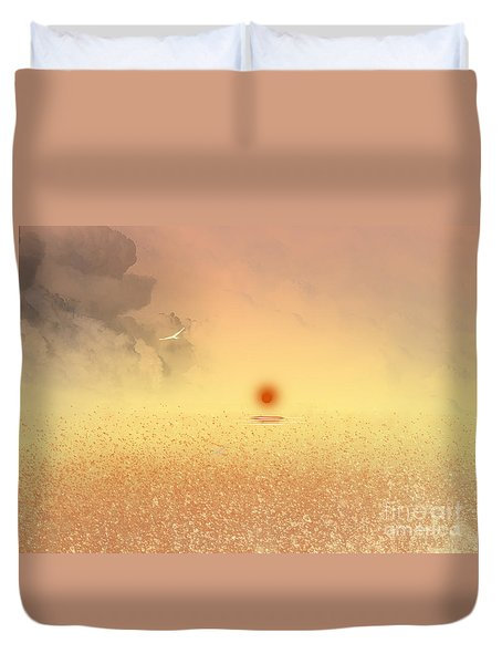 Catching The Light Duvet Cover by Trilby Cole
