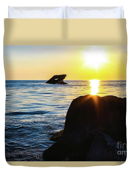 Catching The Sun Duvet Cover by Colleen Kammerer
