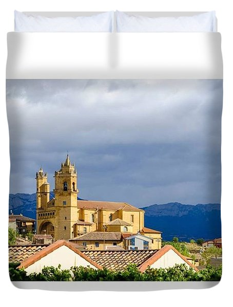 Catedral De Elciego, Spain  #europe Duvet Cover