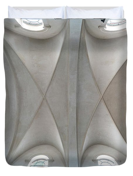 Catedral De La Purisima Concepcion Ceiling Duvet Cover