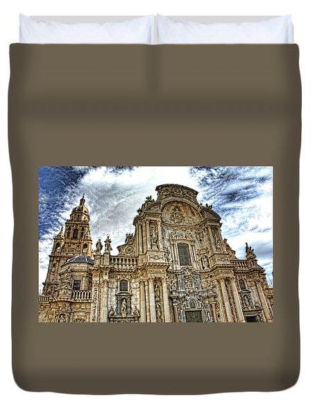 Catedral De Murcia Duvet Cover
