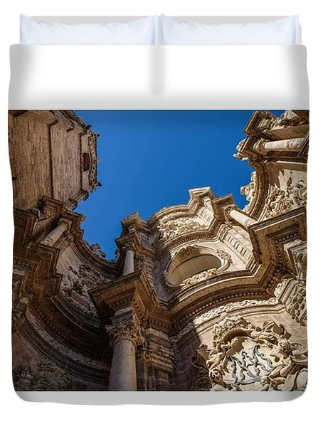 Catedral De Valencia, Spain.  #europe Duvet Cover