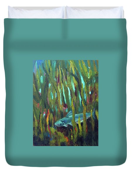 Catfish Duvet Cover
