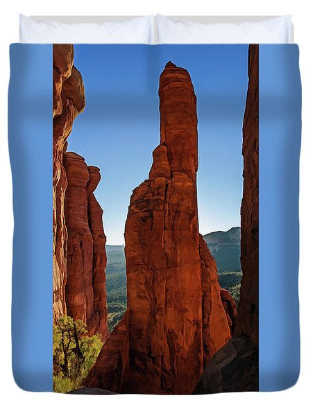 Cathedral 07-056 Duvet Cover