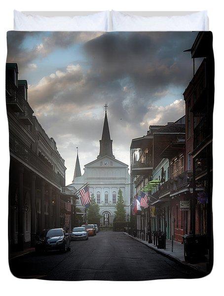 Cathedral Fog Duvet Cover