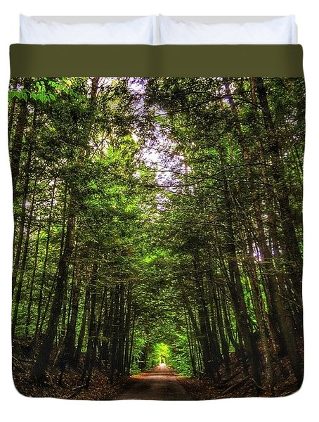 Cathedral Forests Duvet Cover