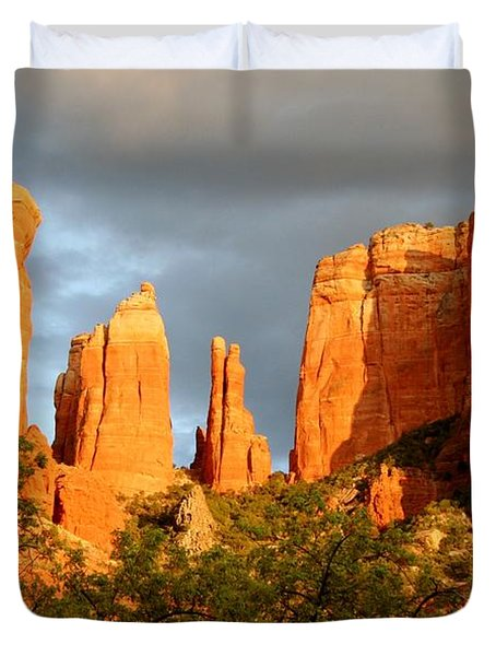 Cathedral Formation Duvet Cover