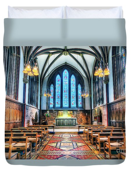 Cathedral Glow Duvet Cover