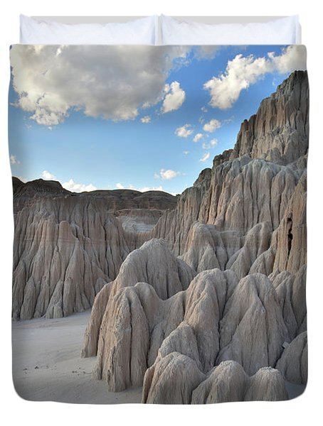 Cathedral Gorge State Park Duvet Cover