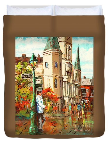 Cathedral Jazz Duvet Cover
