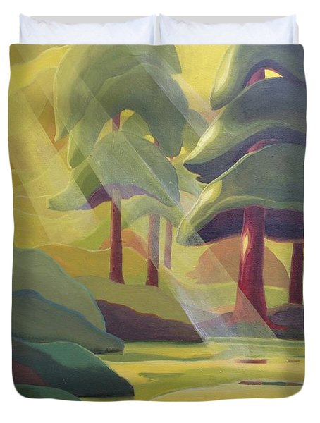 Cathedral Light Duvet Cover