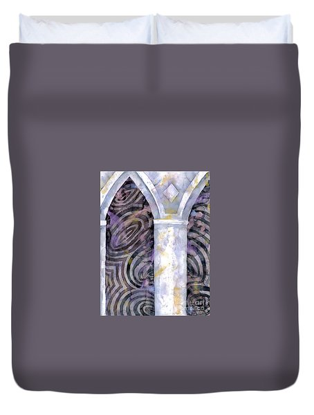Cathedral Duvet Cover by Luke Galutia