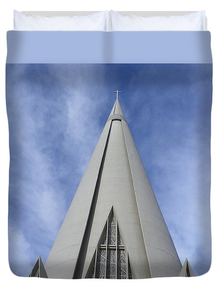 Cathedral Minor Basilica Our Lady Of Glory Duvet Cover