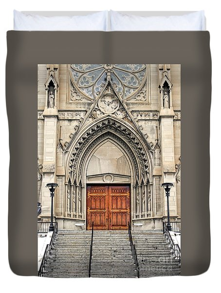Cathedral Of St Helena Duvet Cover