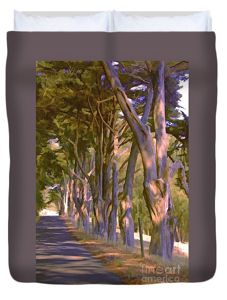 Cathedral Of Trees Duvet Cover