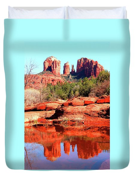 Cathedral Reflections 2 Duvet Cover