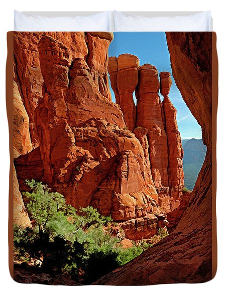 Cathedral Rock 06-124 Duvet Cover