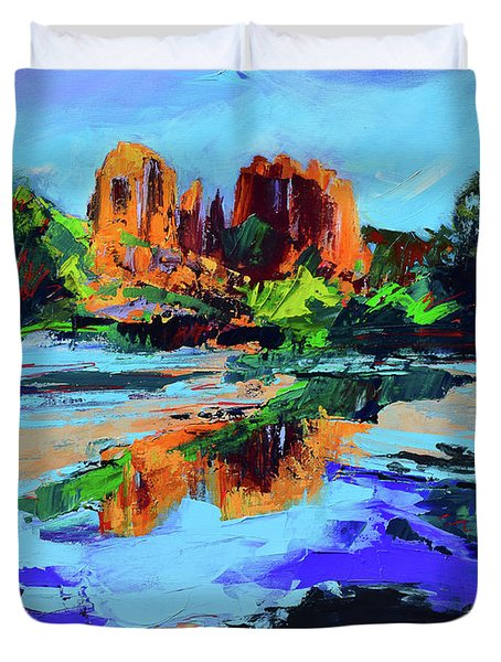 Cathedral Rock - Sedona Duvet Cover