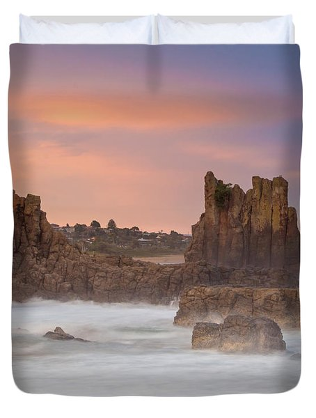 Cathedral Rocks Duvet Cover